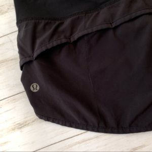 lululemon athletica Shorts - Lululemon Athletic Running Speed Short Black 4